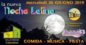 La nueva Noche Latina - Villa Verde Tolentino (Mc) - Mercoledì @ VILLA VERDE Tolentino | Tolentino | Italy