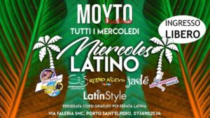 Moyto - Porto Sant'Elpidio (Fm) -  Miercoles Latino @ Moyto DiscoBeach | Porto Sant'Elpidio | Italy