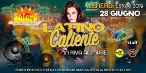 Solero - Porto Potenza Picena (Mc) - Venerdì Latino Caliente in Riva al Mare! @ SOLERO BEACH | Porto Potenza Picena | Italy
