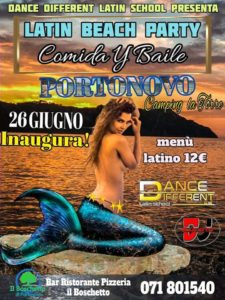 Camping La Torre - Portonovo (An) - Mercoledì Latin Beach Party